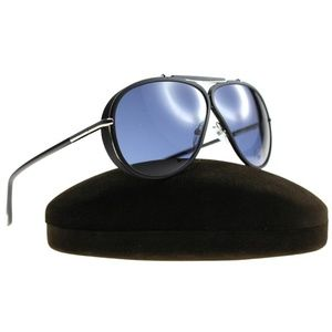Tom Ford Sunglasses Black w/Blue Lens